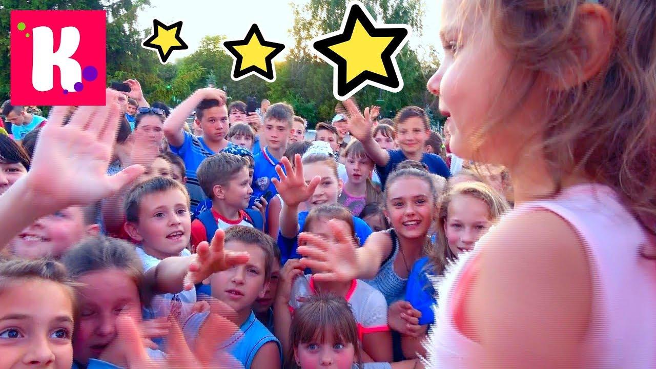ПЕРВАЯ Встреча с подписчиками в 4 года/ 2000 конфет SNICKERS и M&M's для детей от Кати