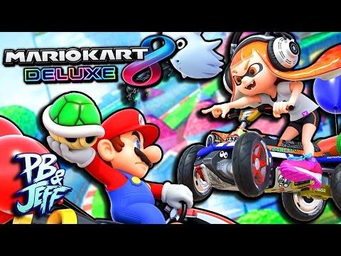 Mario Kart 8 Deluxe Nintendo Switch Gameplay! | BATTLE MODE!
