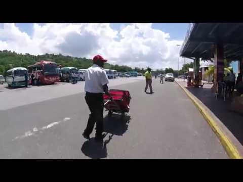 Club Mobay Arrival and Sandals Lounge Montego bay airport Jamaica GoPro