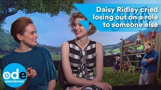 Daisy Ridley cried losing out on a role to someone else