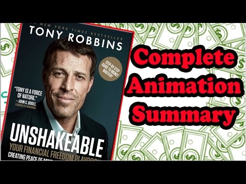 UNSHAKEABLE by Tony Robbins | Book Animation Summary/Review