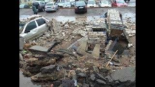Упала стена на автомобили Воронеж 121 стрелковой дивизии
