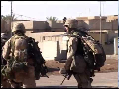 Operation Phantom Fury: Fallujah, Iraq - Combat Footage RCT-1 Combat Camera (Nov. 10, 2004)