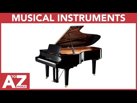 A To Z Of Musical Instruments | ABC Of Musical Instruments Starting From A To Z