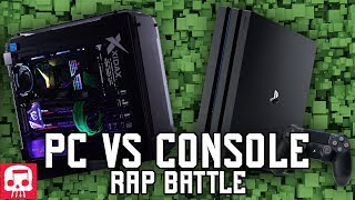 """PC VS CONSOLE RAP BATTLE by JT Music - """"Down With The Xidax"""""""