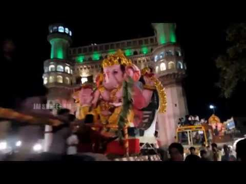 Ganesh Visarjan 2015 - Charminar - Hyderabad