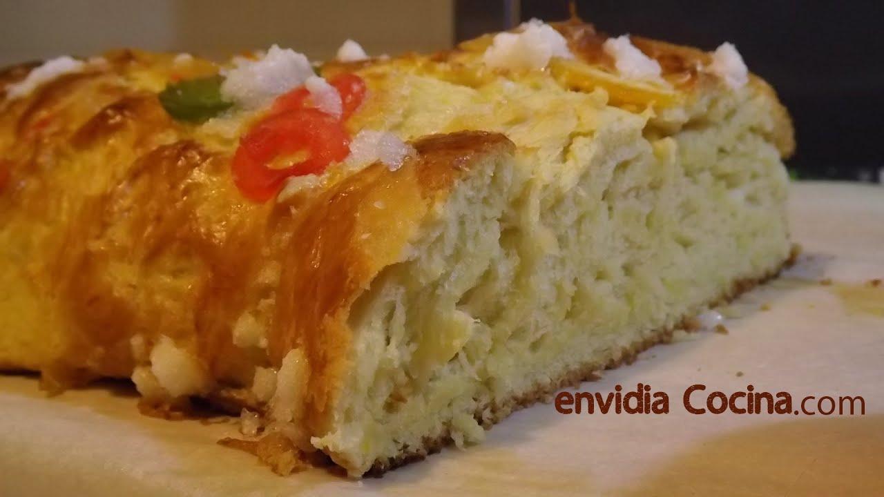Rosc n de reyes o pascua receta de pan dulce f cil y - Cocinar facil y rapido ...