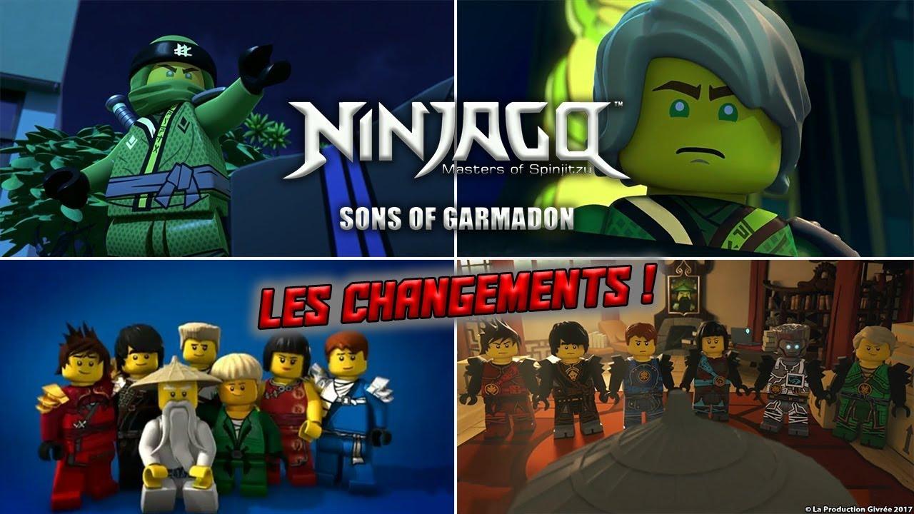 Ninjago saison 8 les changements sog 5 youtube - Ninjago saison 2 ...