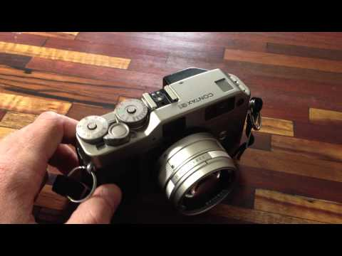 Contax G1 + 45mm Planar Review