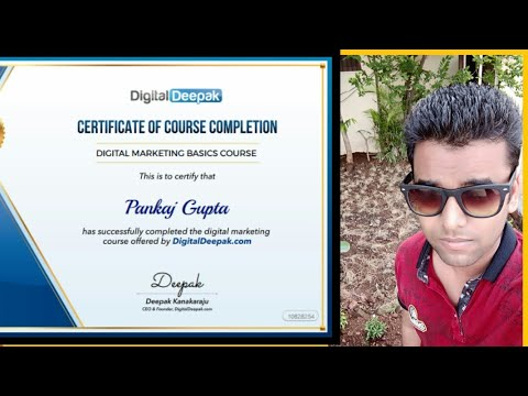 Learn Free Digital Marketing Courses and Get Certified With Proof