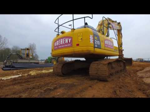 Breheny working for Suffolk County Council - Bury St Edmunds Eastern Relief Road