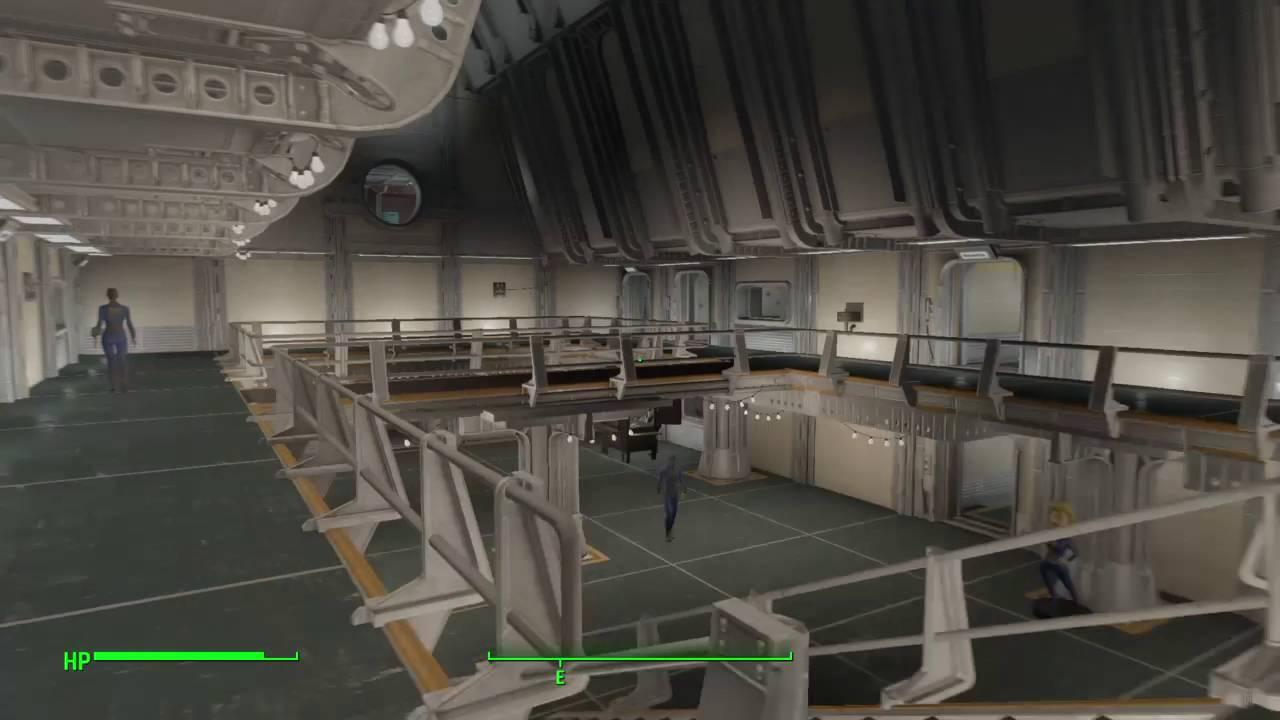 Fallout4 Vault 88 lighting