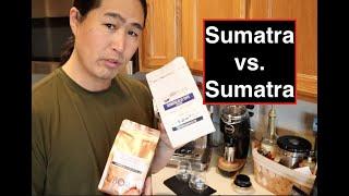 Sumatra vs. Sumatra   Niche Zero   Breville Barista Express