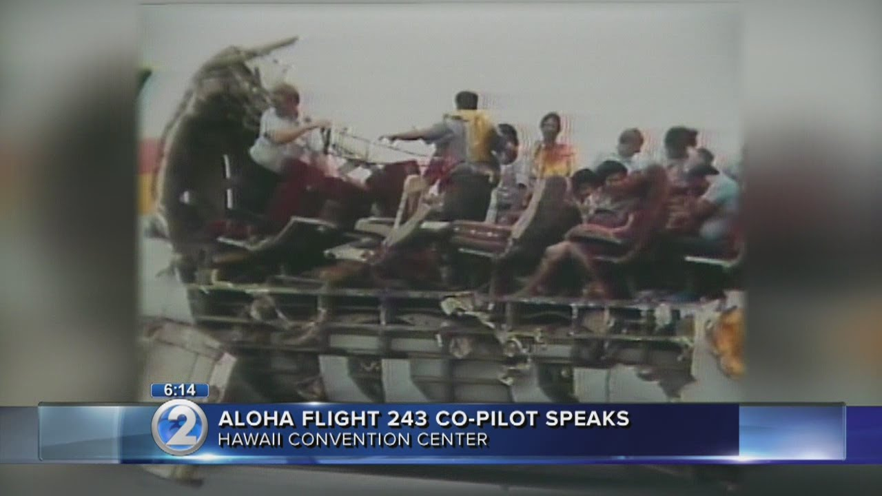 Aloha Airlines Flight 243 Pilot Describes What Happened When Roof Tore Off Plane Youtube