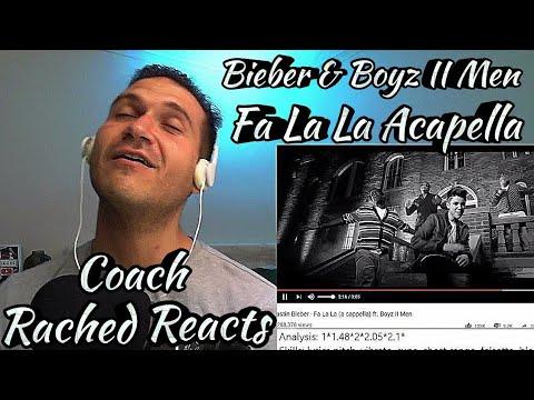 Vocal Coach Reaction + Analysis - (My Fav Singer Wanya) - Bieber & Boyz II Men - Fa La La Acapella