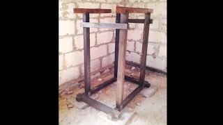 Как сделать деревянные брусья