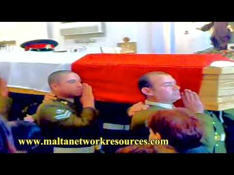Gunner Matthew Psaila's Military Funeral Clip 3