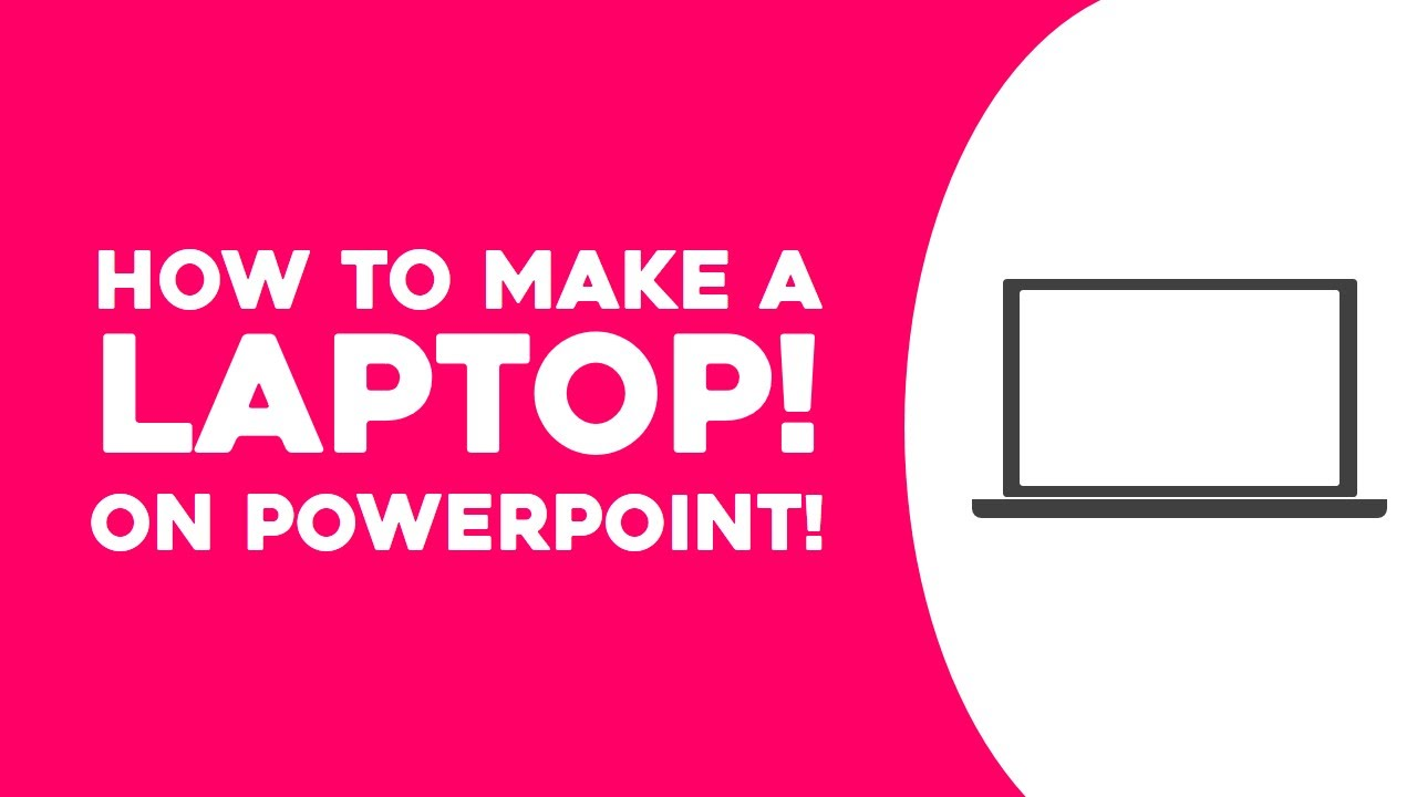 how to make a laptop on powerpoint microsoft powerpoint 2013