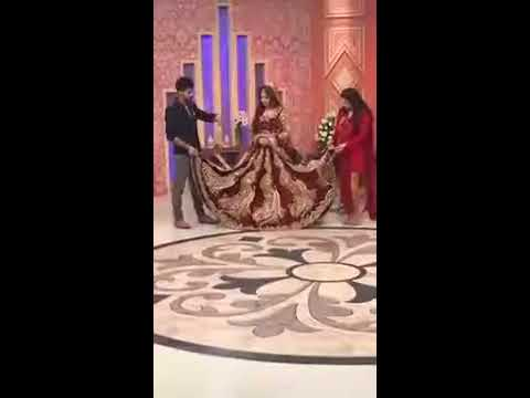 Kashees Makeup & showcasing his boutiques most inspiring bridal wears in  Sanam Jung