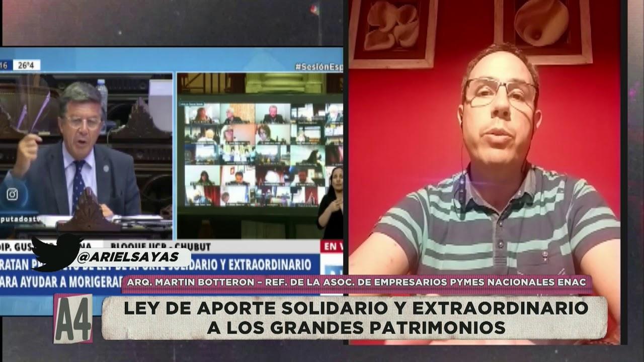 Actualidad 4 Lic. Ariel Sayas Invitado:  Martín Botterón