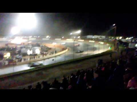 4/22/2017 ULTIMATE SUPERS at Senoia Raceway Super Latemodel Feature Race