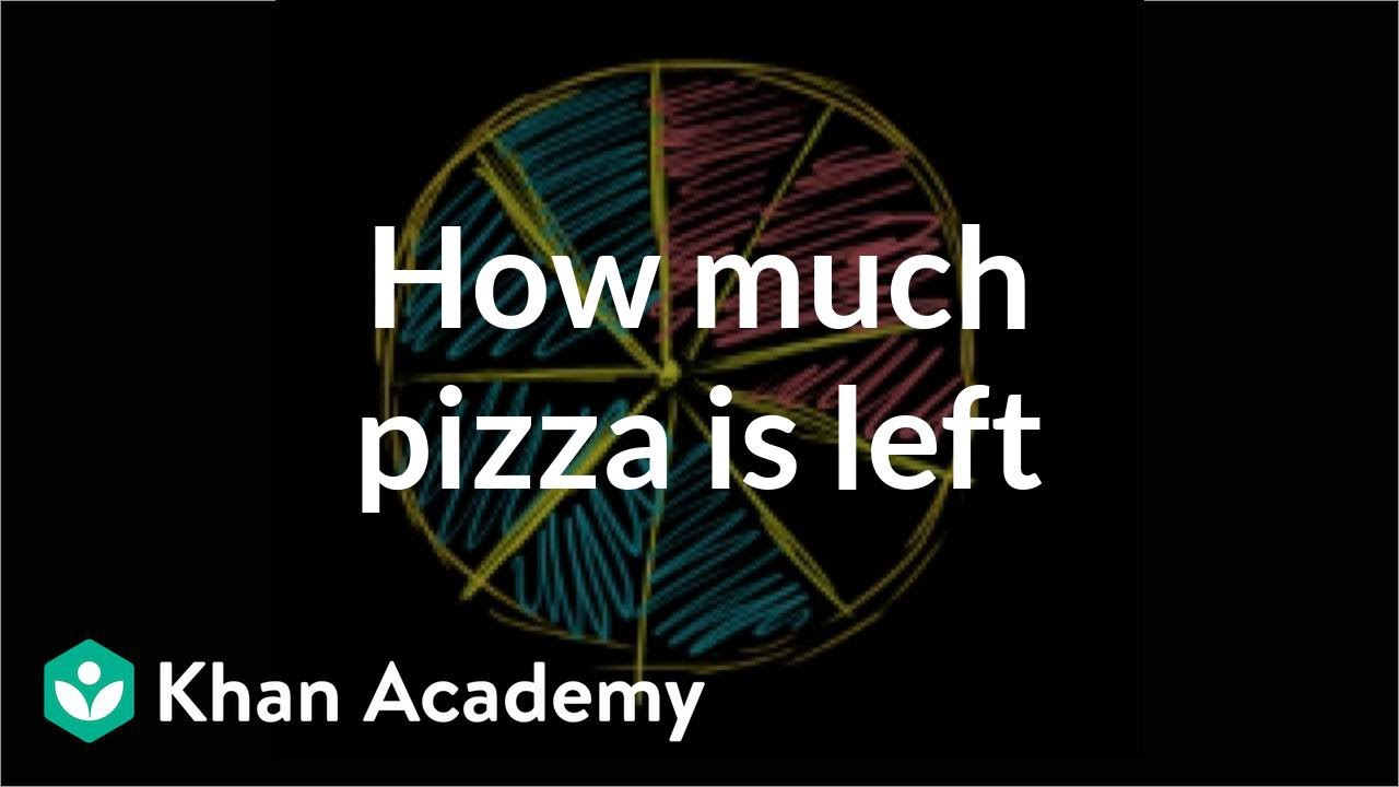 Only Fraction Of Students Are Prepared >> Fraction Word Problem Pizza Video Khan Academy