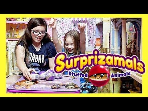 New Series 5 Surprizamals Surprise Plushies Toys ...