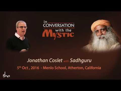 In Conversation with Sadhguru - Jonathan Coslet