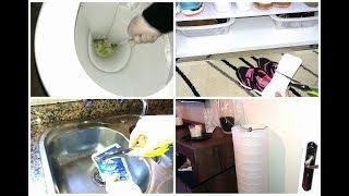 أماكن مقرفة 😲 أفكار و حلول منزلية لتنظيف  لاول مرة على اليوتيوب 😎