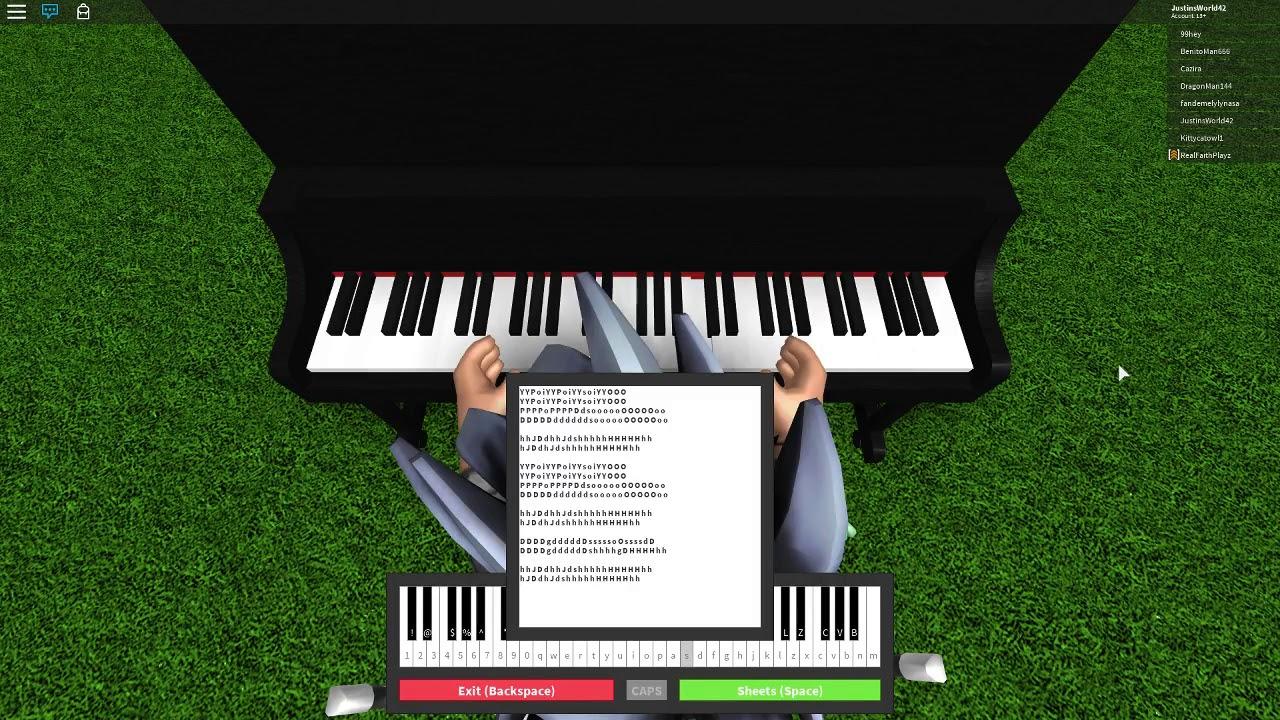 DEMONS - IMAGINE DRAGONS / ROBLOX PIANO SHEETS