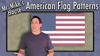 Preschool Learning: American Flag Patterns