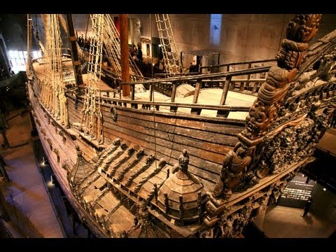 The VASA...  & Museum in Stockholm.  Filmed Aug 2012