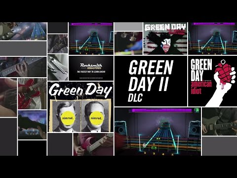 Green Day Song Pack II - Rocksmith 2014 Edition Remastered DLC