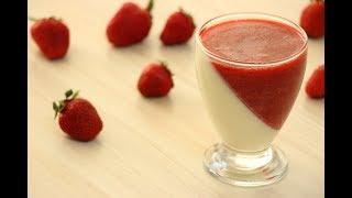 Клубничная ПАННА КОТТА ✧ Strawberry Panna Cotta Recipe  ✧ Çilekli Panna Cotta Tarifi