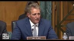 Senate panel advances Kavanaugh to full Senate