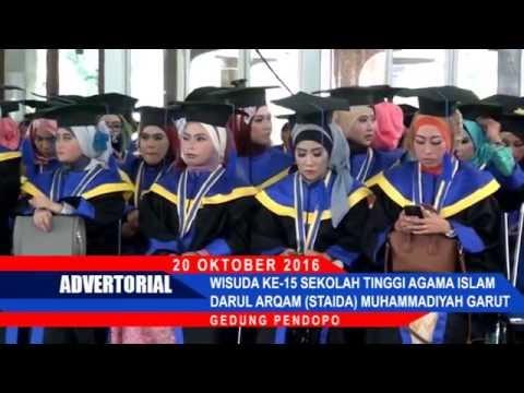 Cover Lagu Adv. Wisuda Staida Muhammadiyah Garut 2016 I