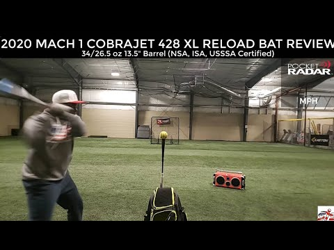Worth Mach 1 428 Cobra Jet XXL WMCH12 Slowpitch Softball Bat 34//26