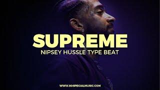 "Nipsey Hussle J Stone type beat ""Supreme"" || Free Type Beat 2021"
