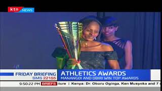 Elijah Manangoi and Hellen Obiri bag male and female athlete of the...