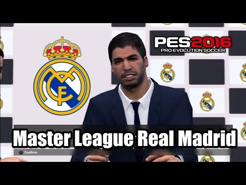 PES 2016 Master League Real Madrid Transfer