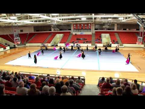 Tennessee High School Winterguard Stateline Clinic and Qualifier 2017