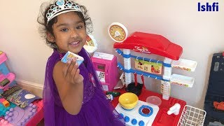 Ishfi's Play time with Toy Kitchen set with Baby Doll