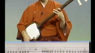 ぜったい弾ける!津軽三味線DVD 第二弾NO5 津軽じょんから節(新節)デモ
