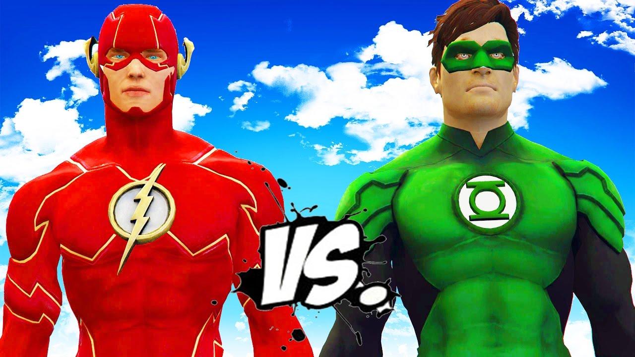 Download THE FLASH VS GREEN LANTERN - EPIC SUPERHEROES BATTLE