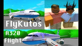 ROBLOX | FlyKutos A320 Flight #1