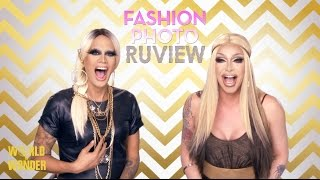 RuPaul's Drag Race Fashion Photo RuView with Raja and Raven: Season 7 Episode 9 - Divine Inspiration