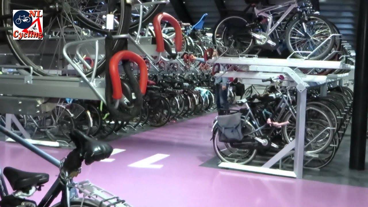 Bicycle parking facility Jaarbeursplein, Utrecht