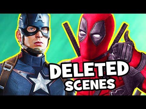 Deadpool 2 DELETED & FAKE Scenes, Missing Post-Credits, Alternate Ending & Extended Cut