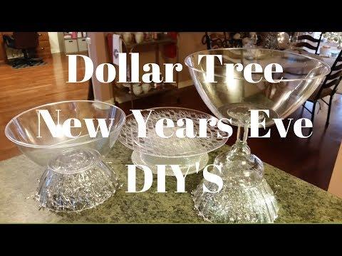 Dollar Tree New Years Eve DIY'S