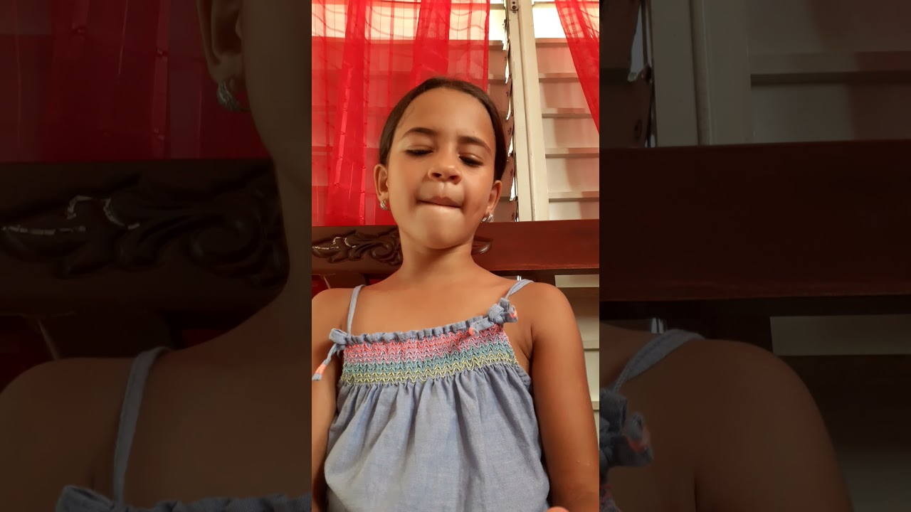 la nieta de papi prenda, aspirando a cantante' apoyenmela